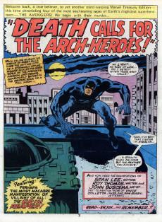 Extrait de Marvel Treasury Edition (Marvel Comics - 1974) -7- Issue # 7