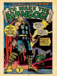 Extrait de Marvel Treasury Edition (Marvel Comics - 1974) -10- The Hammer and the Holocaust!