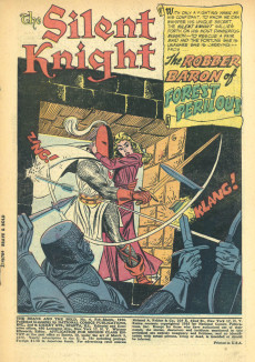 Extrait de The brave And the Bold Vol.1 (DC comics - 1955) -4- The Robber Baron of Forest Perilous!