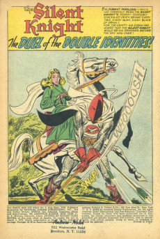 Extrait de The brave And the Bold Vol.1 (DC comics - 1955) -7- Duel of the Double Identities!