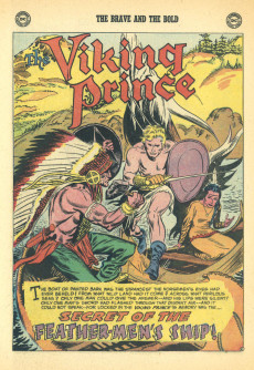 Extrait de The brave And the Bold Vol.1 (DC comics - 1955) -10- Challenge of the Round Table!