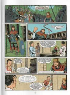 Extrait de Histoire de France en bande dessinée -4- Clovis roi des Francs 481/511