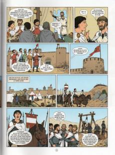 Extrait de Histoire de France en bande dessinée -12- Les premières croisades Godefroi de Bouillon et la chevalerie 1096/1149