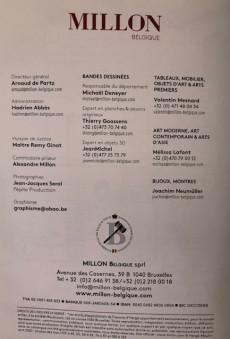 Extrait de (Catalogues) Ventes aux enchères - Millon - Millon - Bandes Dessinées - 28 juin 2020 - Bruxelles