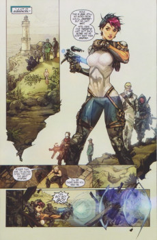 Extrait de Cyber Force / Hunter Killer (2009) -1B- Issue 1