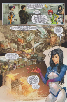 Extrait de Cyber Force / Hunter Killer (2009) -2- Issue 2