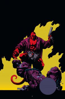 Extrait de Hellboy (Intégrale Deluxe) -HS2- 25 ans d'Illustrations