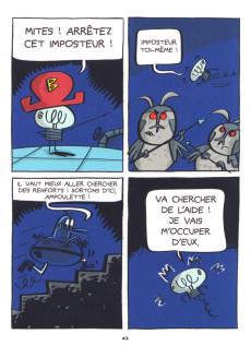 Extrait de Cosmo-souris et ampoulette -5- Retour sur terre inconnue