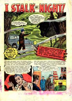 Extrait de Adventures into Terror Vol.2 (Atlas - 1951) -3- I Stalk By Night!