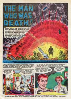 Extrait de Adventures into Terror Vol.2 (Atlas - 1951) -5- Hitch-Hiker!