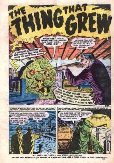 Extrait de Adventures into Terror Vol.2 (Atlas - 1951) -7- Where Monsters Dwell!