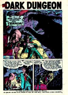 Extrait de Adventures into Terror Vol.2 (Atlas - 1951) -9- The Dark Dungeon!