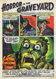 Extrait de Adventures into Terror Vol.2 (Atlas - 1951) -12- 13th Floor! All Out!