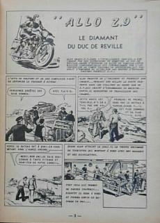 Extrait de Flash (Artima) -9- Allo Z.9 : Le diamant du Duc de Réville - 2