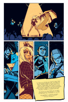 Extrait de Black Canary - New Killer Star - Black Canary : New Killer Star