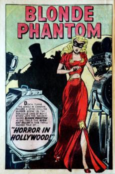 Extrait de Blonde Phantom Comics (Timely Comics - 1946) -13- Issue # 13