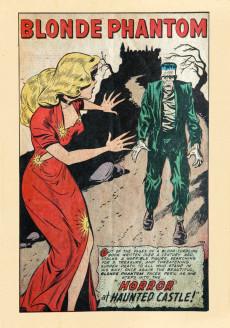 Extrait de Blonde Phantom Comics (Timely Comics - 1946) -14- Horror at Haunted Castle!