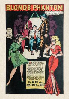 Extrait de Blonde Phantom Comics (Timely Comics - 1946) -15- Issue # 15