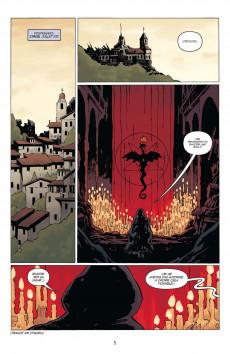 Extrait de Hellboy (Les Dossiers secrets de) -1- Raspoutine