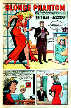 Extrait de Blonde Phantom Comics (Timely Comics - 1946) -17- Issue # 17
