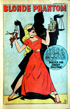 Extrait de Blonde Phantom Comics (Timely Comics - 1946) -19- Issue # 19