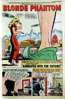 Extrait de Blonde Phantom Comics (Timely Comics - 1946) -21- Issue # 21