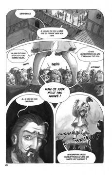 Extrait de Les fabuleuses aventures de Ludwig Van Multbutter et de son fidèle compagnon Gérard -1- Poulpe, pigeon et palefroi
