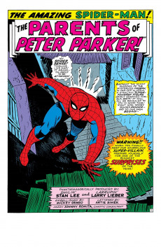 Extrait de Amazing Spider-Man Epic Collection (The) (2013) -INT05- The Secret Of The Petrified Tablet