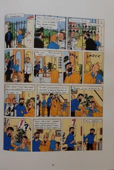 Extrait de Tintin - Pastiches, parodies & pirates -19d2020- Tintin et l'Alph-Art