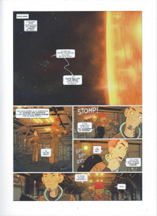 Extrait de Les chroniques de l'Univers -1- La Thrombose du Cygne