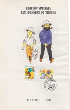 Extrait de Tintin - Publicités -9Fête du ti- Le crabe aux pinces d'or