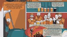 Extrait de Bière dessinée - Le guide BD des microbrasseries de l'Est du Québec