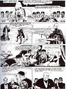 Extrait de Les partisans (Magnus) -4- Au Nom de la Loi