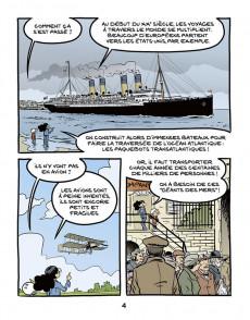 Extrait de Le fil de l'Histoire (raconté par Ariane & Nino) - Le Titanic (Naufrage d'un géant)