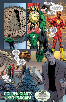 Extrait de Green Lantern - Season Two (The) (DC Comics - 2019) -4- Golden Giants of Neo-pangaea