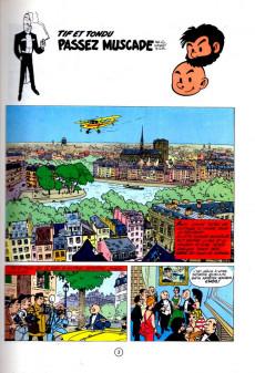 Extrait de Tif et Tondu -6a1983- Passez muscade