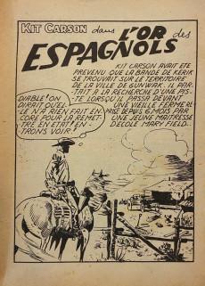 Extrait de Kit Carson -16- L'or des espagnols