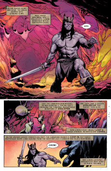Extrait de Conan the Barbarian Vol 3 (Marvel - 2019) -9C- The Life & Death of Conan: part nine - The God Below