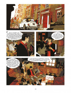 Extrait de Dylan Dog (Mosquito) -5- Le point de vue des Zombies