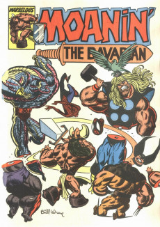 Extrait de What the..?! (Marvel comics - 1988) -12- The Savage Wit of What The--?!