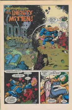Extrait de What the..?! (Marvel comics - 1988) -24- The Infinity Gauntlet
