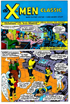 Extrait de What the..?! (Marvel comics - 1988) -25- All Mutant Parody Issue!