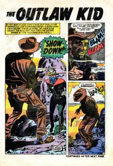 Extrait de The outlaw Kid Vol.2 (Marvel - 1970) -1- Showdown!