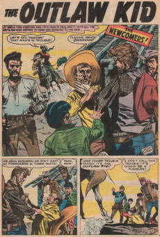 Extrait de Outlaw Kid Vol.2 (The) (Marvel - 1970) -2- One Kid Too Many!