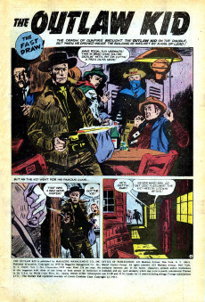 Extrait de Outlaw Kid Vol.2 (The) (Marvel - 1970) -3- Issue # 3