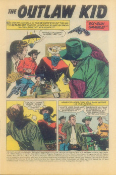 Extrait de The outlaw Kid Vol.2 (Marvel - 1970) -4- The Riddle of Scorpion Creek