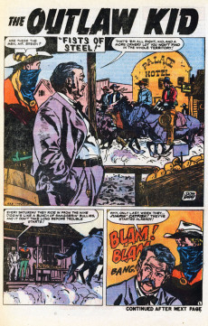 Extrait de Outlaw Kid Vol.2 (The) (Marvel - 1970) -5- Last Train to Boot Hill!