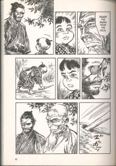 Extrait de New lone wolf & cub -4- Volume 4