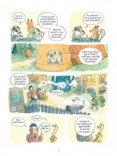Extrait de Le temps des Mitaines -2- Cœur de renard