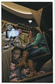 Extrait de Star Wars (Panini Comics - 100% Star Wars) -10- La Fuite